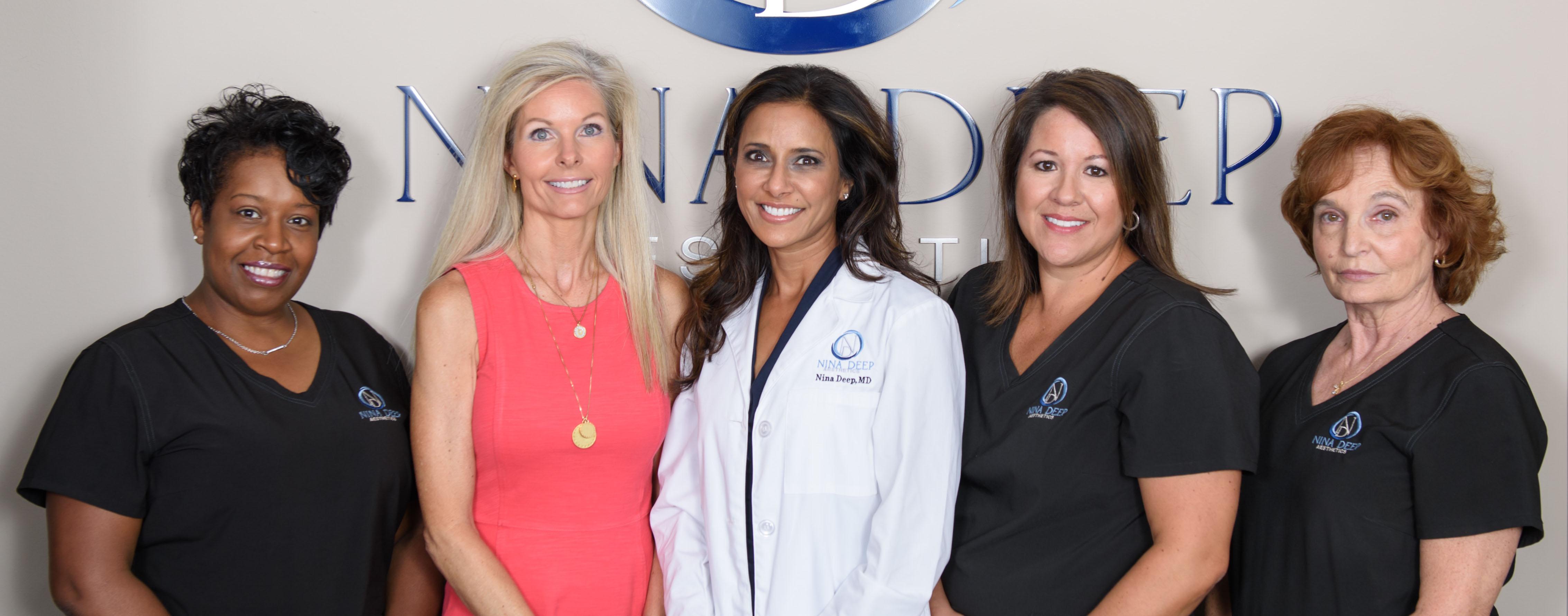 Dr. Nina Deep and her staff
